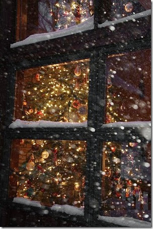 janela de Natal
