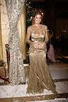 Flavia Palmiero con un impresionante vestido de Laurencio Adot