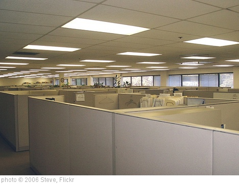 'Cubicle farm' photo (c) 2006, Steve - license: http://creativecommons.org/licenses/by-sa/2.0/