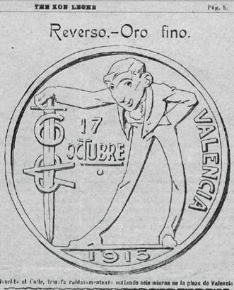 1915-10-25 TKL Joselito y Miuras Valencia