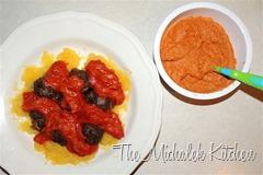 Spaghetti Squash - MBs - Tomato Sauce