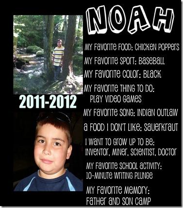 Noah's likes