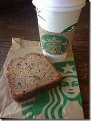 Starbucks Birthday Breakfast