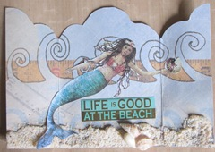 triptych open mermaid atc