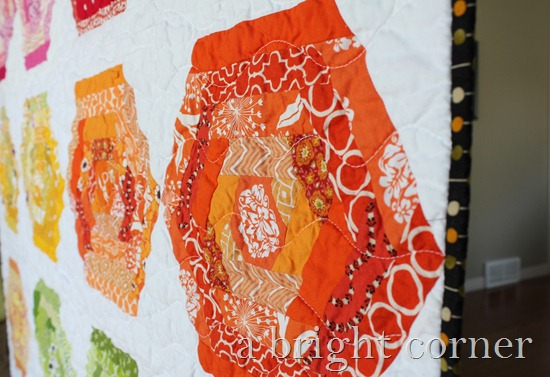 hexing around quilt 3