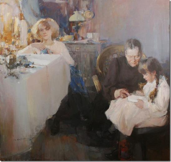 Motherly Love-Vadim-Suvorov-ENKAUSTIKOS