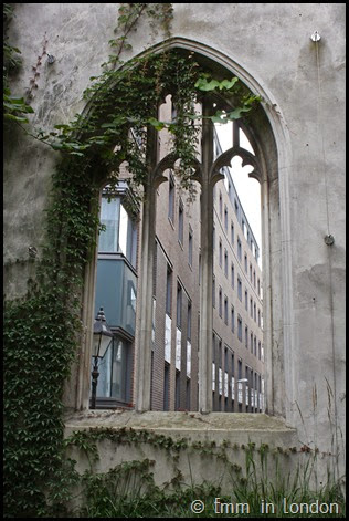 Bombed out church of St Dunstan in the East (7)