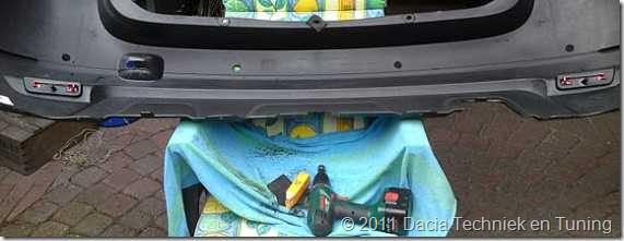 Parkeersensoren Dacia Duster 06