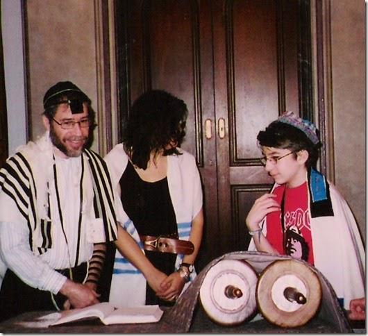 Jed's bar mitzvah