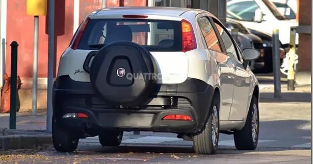 Fiat cria Punto Adventure para a Índia