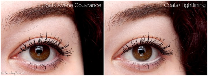 Avène Couvrance Mascara applied