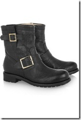 Jimmy Choo youth leather biker boots £565