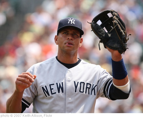 'Alex Rodriguez' photo (c) 2007, Keith Allison - license: http://creativecommons.org/licenses/by-sa/2.0/