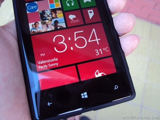 HTC Windows Phone 8X 10