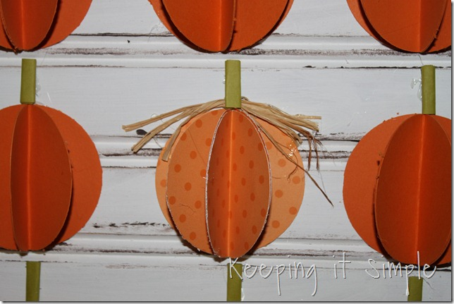 3D paper pumpkins (8)