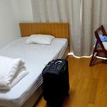 my apartment bedroom in roppongi in Tokyo, Tokyo, Japan