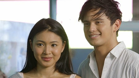 James Reid and Nadine Lustre in MMK