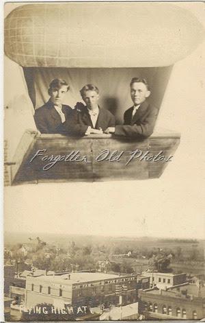 Mystery Two Postcard AZO Triangles up DL Flea Market (2)