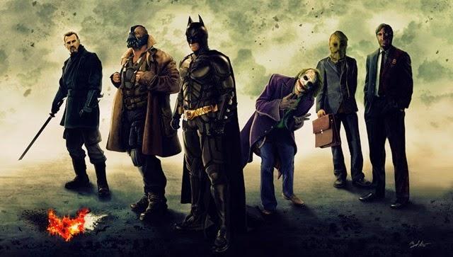 #2. Batman Trilogía (2008-2012)