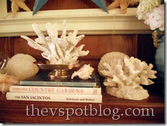 coral, white, summer, faux