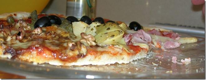 pizza pizzeria sottile croccante forno casa