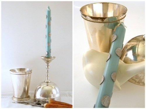 Blog Blue Candles