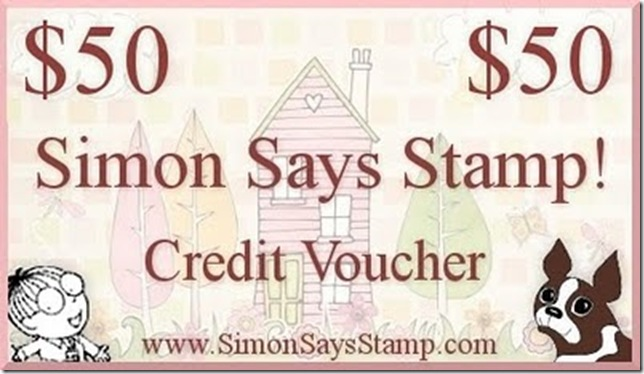 Simon Says Stamp $50 Credit Voucher
