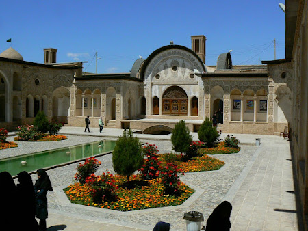 Monuments of Kashan: old villa