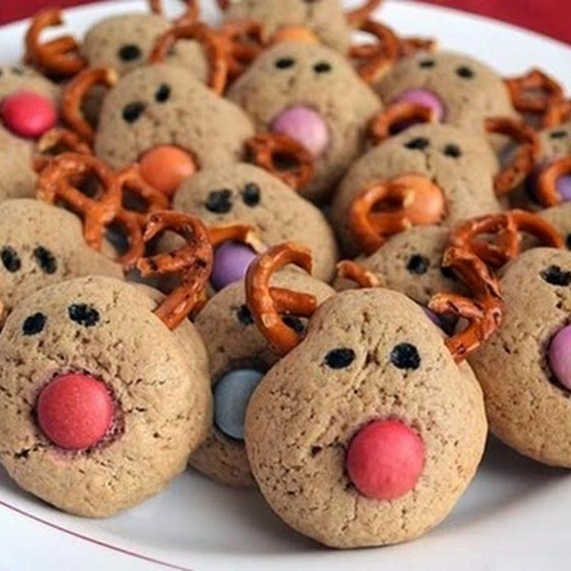 Cookies ταράνδων