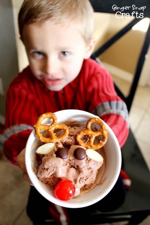 Rudolf Sundae Edy's Ice Cream #ad