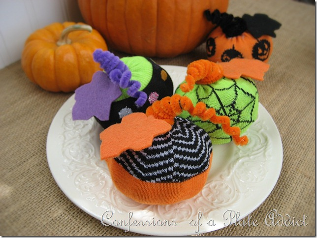 Halloween Sock Pumpkins 3