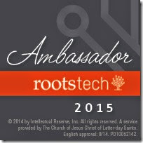 The Ancestry Insider is an official RootsTech ambassador