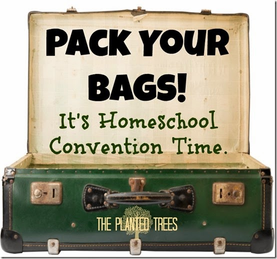Pack Your Bags Homeschool Conventions