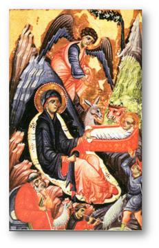 Miniatura del Epistolario de Giovanni Gaibanas, siglo XIII