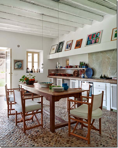 Girona Spain kitchen via inspiring interiors blog