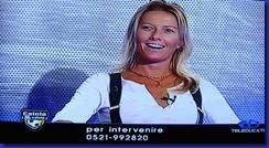 CHIARA ANDREOLI NEGLI STUDI DI CALCIO E CALCIO 03 10 2011