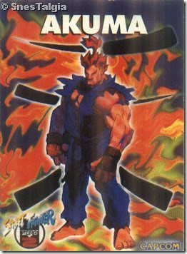 Akuma-gouki- Card Street Fighter Zero 2