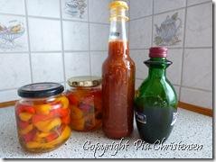 Amerikansk ketchup og chili i lage