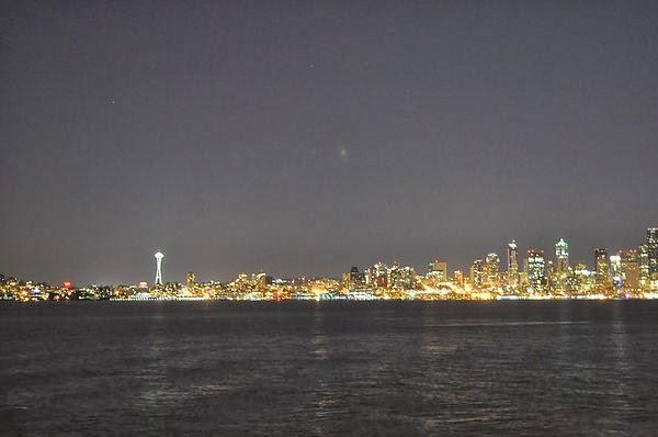 Seacrest Park 西雅圖夜景