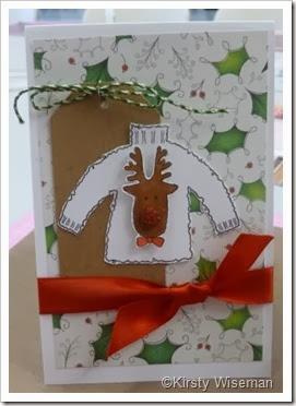 Kirsty Wiseman Christmas Jumper Card