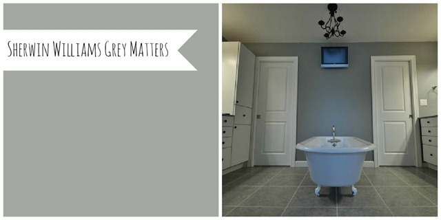 Sherwin Williams Grey Matters