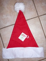 Holiday Time Large Santa Hat
