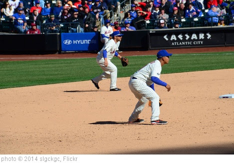 'Omar Quintanilla at Second and Ruben Tejada at Shortstop' photo (c) 2014, slgckgc - license: https://creativecommons.org/licenses/by/2.0/