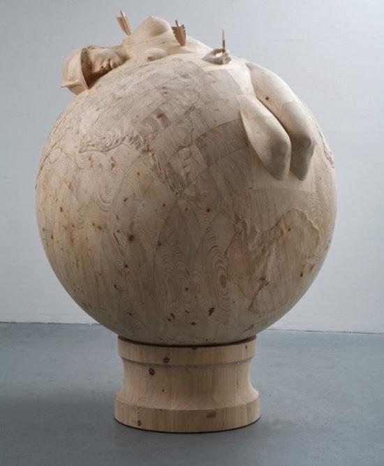 Esculturas surreiais  de Morgan 06