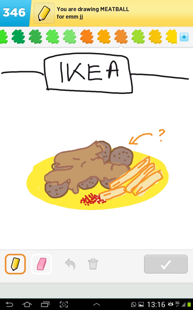 Draw Something Collection Ds Meatball