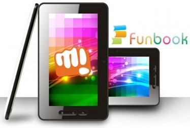 Micromax FunBook,android tablet,cheap tablet,indian tablet pc