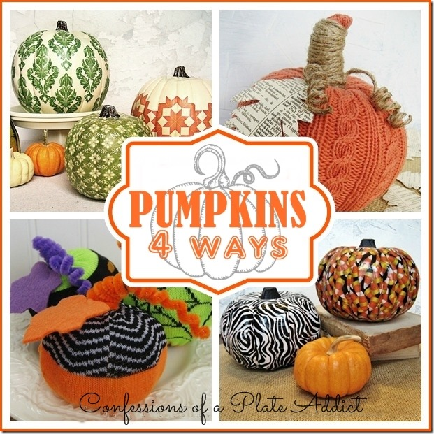 CONFESSIONS OF A PLATE ADDICT Pumpkins 4 Ways