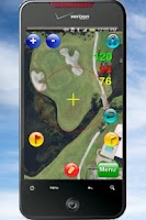 Screenshot of WebCaddy GPS Golf Rangefinder