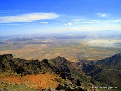 From the top of Steens
