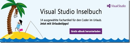 Visual Studio Inselbuch